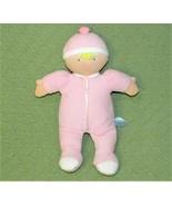 "Kids Preferred Plush BABY Doll Pink 12"" Blue Eyes Yellow Hair 2011 Stuff... - $19.80"
