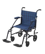 Drive Medical Fly Lite Ultra Transport Wheelchair Blue - $166.75