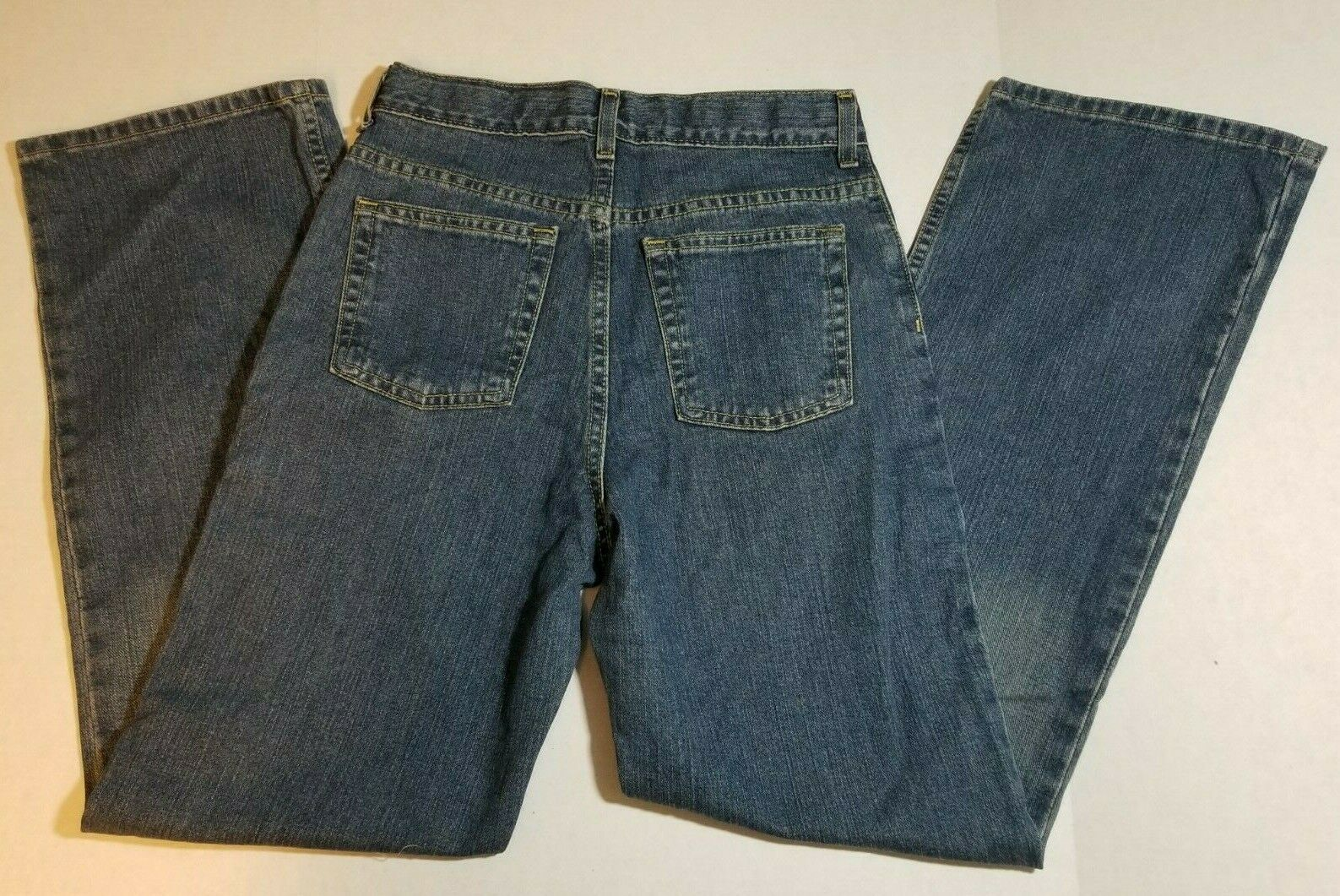 NWT Route 66 Regular Bootcut Boys Youth Jeans Size 16R Medium Wash Pants image 4
