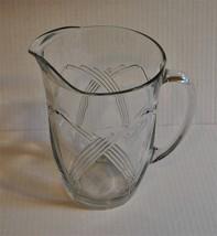 Vintage Anchor Hocking 80 oz Glass Pitcher in P... - $13.09