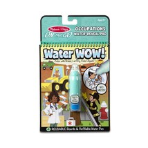 Melissa & Doug On The Go Water Wow! Occupations Reusable Water-Reveal Ac... - $7.65