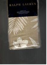 RALPH LAUREN BLUE LABEL HALUNA BAY EUROPEAN SHAM 100%COTTON FLORAL NEW I... - $74.80