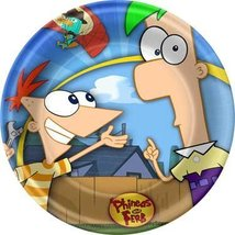 Disney's Phineas and Ferb 9' Lunch Plates 8 Pack - $18.93