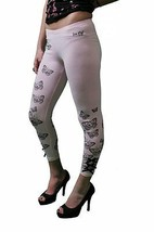 Iron Fist Battement Die Rose Leggings Taille:XS
