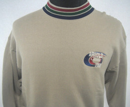 Arnold Fitness Classic 2000 Ohio Vintage Jerzees Sweatshirt Beige Brown ... - $24.74