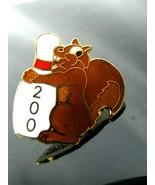 Bowling CLUB 200 Vintage Hat Lapel Pin Back  - $6.88