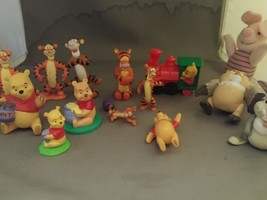 Bulk Lot Winnie the Pooh and Friends Toys Figures  - $30.00