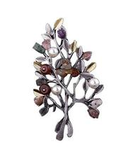 2 Pieces Of Colourful And Creative Brooch Spar Tree Brooch Clothes Accessories