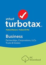 Intuit TurboTax Business 2017 for WINDOWS with Federal + eFile - $24.95