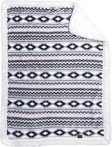 "Ultra Soft Plush Baby Blanket with Sherpa Lining 30""x42"" Playful Aztec P... - $29.99"