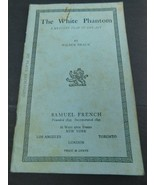"""Vintage Theater Play Books Samuel French Dramatists Plays """"The White Pha... - $45.00"""