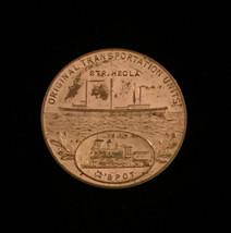1934 Two Harbors, MN - Iron Ore 50 year anniversary - Gold Token image 1