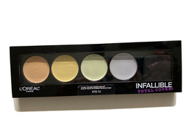 L'Oreal Infallible Total Cover 225 Color Correcting Kit palette~ New AND Sealed - $7.51