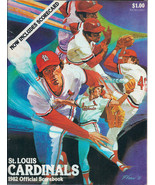 St. Louis CARDINALS 1982 Official Scorebook - Cardinals vs. Montreal Expos - $5.00