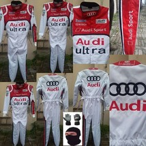 AUDI Go Kart Race Suit CIK FIA Level 2 Approved with free gift Gloves - $160.99