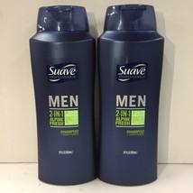 Lot of 2 Suave Men Alpine Fresh Shampoo + Conditioner, 28 Fl Oz Each  EB5 - $5.99