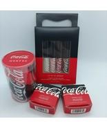 Morphe X Coca Cola Limited Edition Lot ~ Lip Gloss, Sponges & Loose High... - $123.75