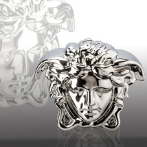 Versace By Rosenthal Money Box Silver H14,5 Cm / H5.7 In Break The Bank New - $173.25