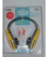 Coby CX-20 AM/FM HEADPHONE Receiver Brand New! - $28.04
