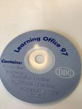 Aprendizaje Oficina 97Multimedia Ordenador Base Formación en CD Rom-Very... - $28.98