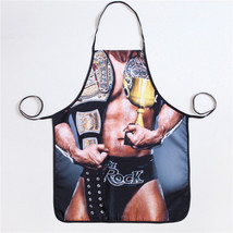 Sexy Muscle Man Funny Aprons Novelty Adult Party Cooking Kitchen Housewo... - $4.49