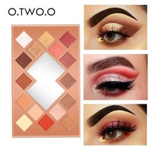 O.TWO.O® Eyeshadow Palette Matte Shimmer Glitter Powder Professional Eyes Makeup - $23.19