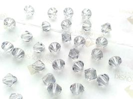 25pcs 3mm SWAROVSKI CRYSTAL FACETED BICONE BEADS - You Choose the Color image 5