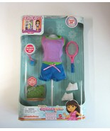 2009 Mattel Teenage Dora Explorer Girls Sports Styles TENNIS OUTFIT for ... - $7.99