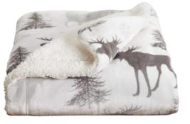 Home Fashion Designs Reversible Fleece Velvet Plush Fuzzy Fleece Blanket - $28.95