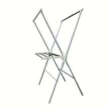 White Metal Folding Laundry Rack with plastic fittings- Ore Internationa... - $42.05