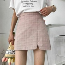 Korean Version Of The Plaid Skirt Women's Student Net Red Was Thin And V... - $21.77+