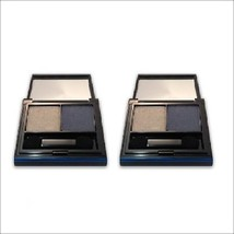 Elizabeth Arden Color Intrigue Eyeshadow Duo - Blue Smoke - LOT OF 2 - $27.97