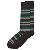 Alfani Men's Scale-Stripe Socks (Forestgrey, ONE SIZE) - $7.95