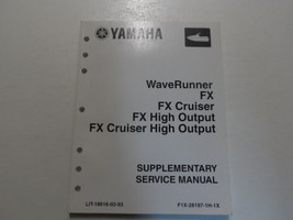 YAMAHA WaveRunner FX Cruiser High Output Cruiser High Output SUPP Servic... - $98.95