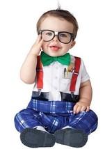 Incharacter Kindergarten Nerd Schule Kleinkinder Süß Baby Halloween Kost... - $21.99