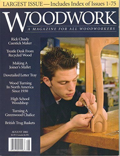 Woodwork : A magazine for All Woodworkers August 2002 [Paperback] Levine, John (