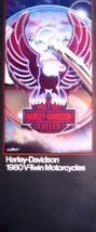1980 Harley Davidson V-Twin Brochure Sportster Super Glide Electra Low R... - $14.27