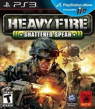 Heavy Fire: Shattered Spear PS3 Brand New! Fast Shipping! Ps Move Compatible! - $11.99