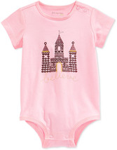 First Impressions Baby Girls' Short-Sleeve Castle Bodysuit, Size 24 Months - $8.90