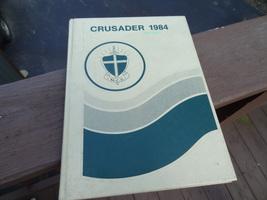 1984 CRUSADER  MENTOR, OHIO  MENTOR CHRISTIAN HIGH SCHOOL  YEARBOOK YEAR... - $13.99