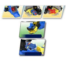 Miniforce Argen Base Super Dinosaur Power Transformation Toy Action Figure image 5