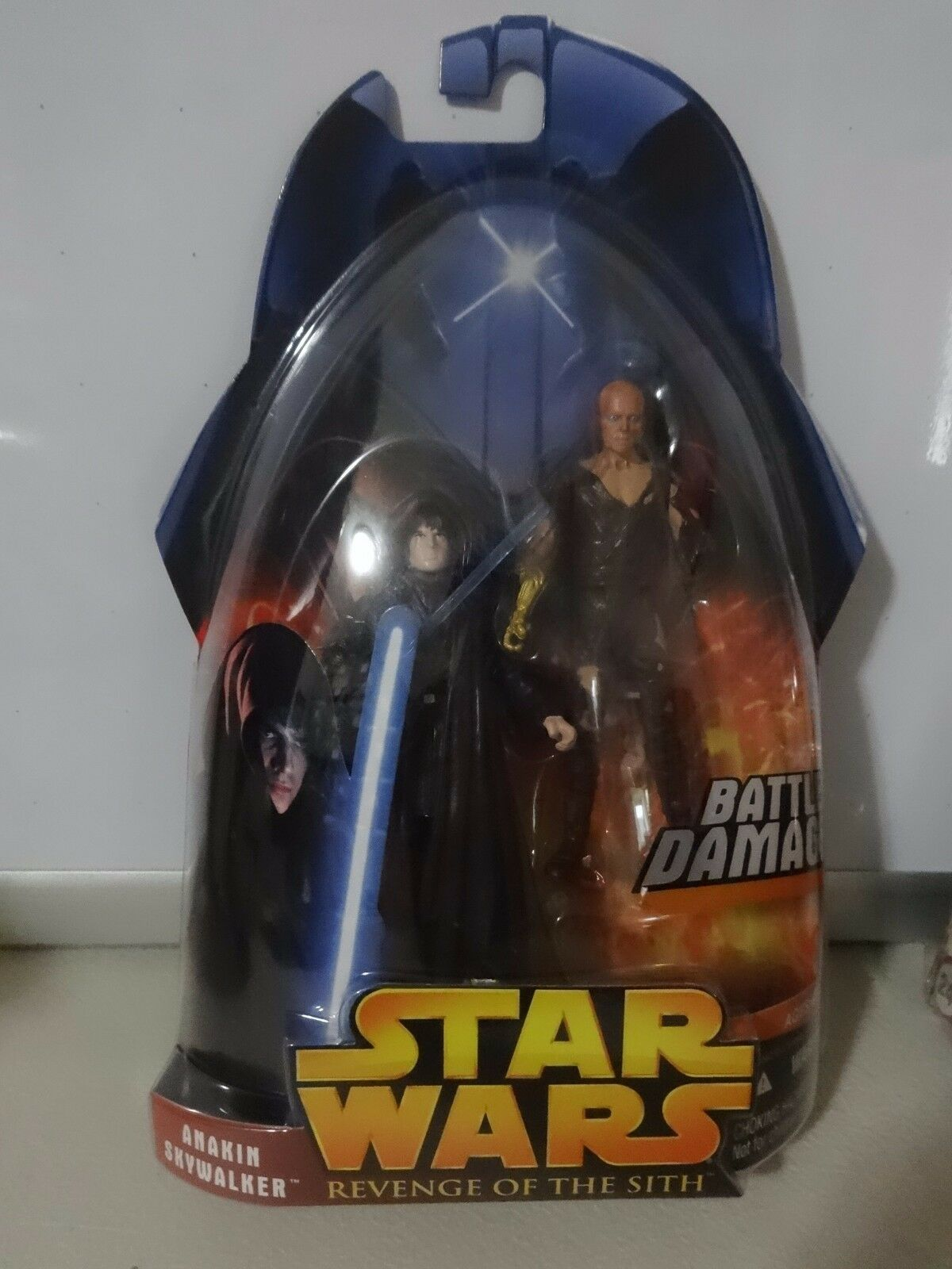 HUGE SELECTION STAR WARS 2005 EP 3 Revenge Of The Sith ROTS ACTION FIGURES MOC