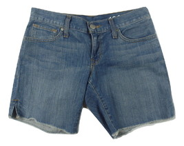 Gap Womens Jean Shorts Size 24 / 00 Boyfriend Stretch Medium Wash Denim - $17.47