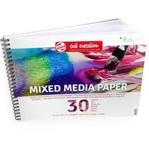 Royal Talens – Art Creation A3 Mixed Media Paper Sketchbook – 30 Sheets ... - $17.72