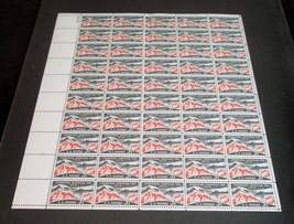1958 Full Sheet USPS 50 XF MNH OG Scott #1107 Intrnat Geophysical Year 3... - $6.63
