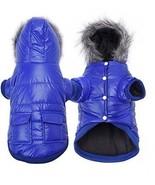 Enjoying Winter Puppy Coat - Dog Winter Coat Waterproof Warm Dog Hooded... - $19.37