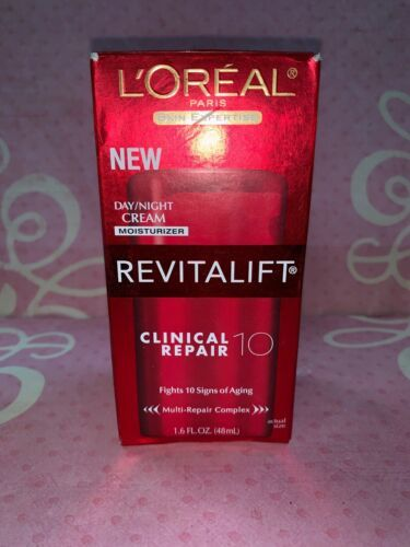Primary image for L'Oreal Paris Revitalift Clinical Repair 10 Day/Night Cream 1.6 fl oz NEW BOXED