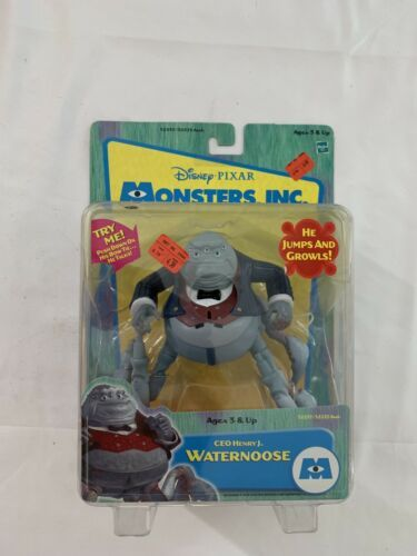 Primary image for Disney Pixar Monsters Inc. C.E.O Henry J. Waternoose Mint package New 2001 USA