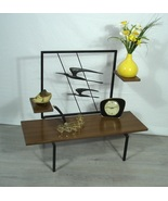 50s 60s PLANT TABLE 3 Levels, Coffee Table Metal Birds Deco Mid Century ... - $347.00
