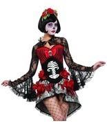 STARLINE Deadly Damsel Día de los Muertos Adulto Mujer Disfraz Halloween... - $100.13